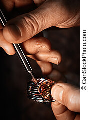making., jewelery, mestiere