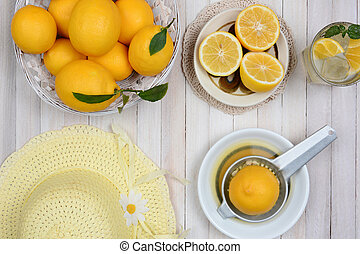 Making Lemonade Still Life