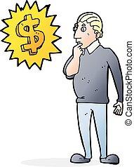Save More Money with Jen Hemphill |More Money Cartoon