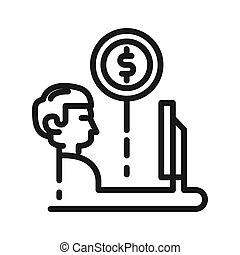 making money vector illustration design