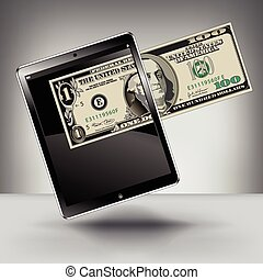 Making Money with a Touch Pad Tablet