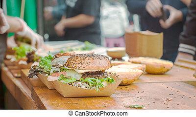 Making of Burgers