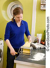 Making Pasta at Home