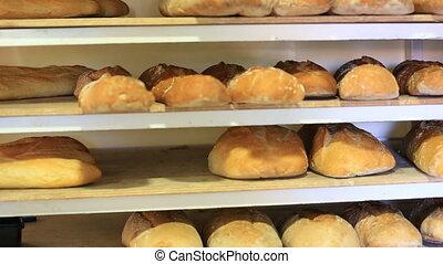 Making rustic bread