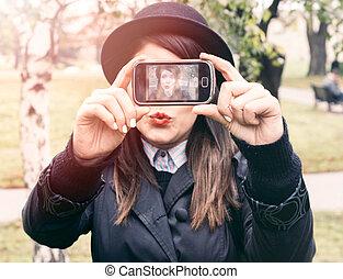 Making Selfie