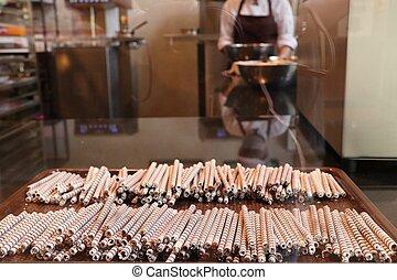 Making to sweet chocolate