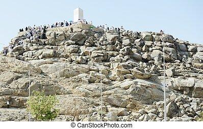 Makkah Kaaba Hajj Muslims - Arafat Jabal