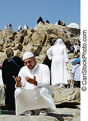 Makkah Kaaba Hajj Muslims - Islamic Holy Place