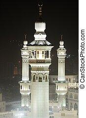 Makkah Kaaba minarets