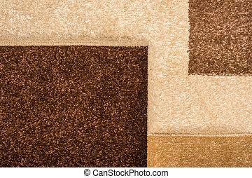makro, beschaffenheit, teppich