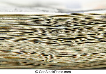 makro, pengar., stack
