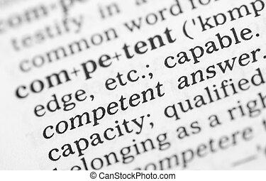 makro, wizerunek, od, słownik, definicja, od, fachowy
