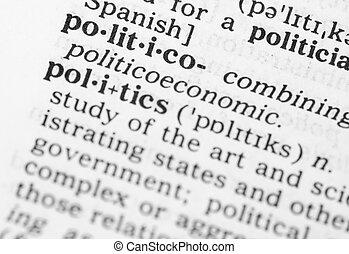 makro, wizerunek, od, słownik, definicja, od, polityka