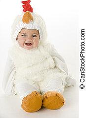 malý kuře, kostým