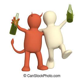 mal, alcoolisme