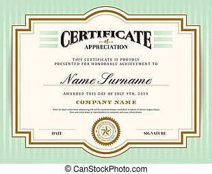 mal, certificaat, ouderwetse , frame, retro, achtergrond, grens