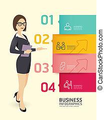 mal, genummerde, gebruikt, verkoop, lijnen, bevordering, infographics, /, vector, etiket, website, cutout, banieren, horizontaal, grafisch, moderne, papier, stijl, zijn, opmaak, of, groenteblik