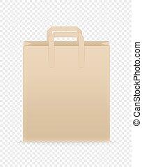 mal, het brandmerken, bruine , ambacht, papier, shoppen , ...
