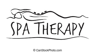 mal, spa, therapie