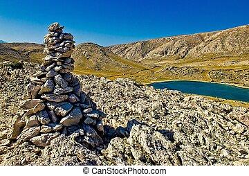 Mala Luka stone & Sea Desert, Krk, Croatia