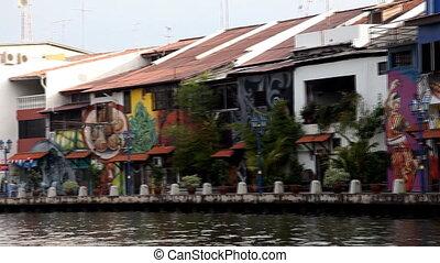 Malacca river cruise - 1st September 2012, Malacca Malaysia...