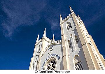 malacca, st. 。, francis, xavier's, 教会