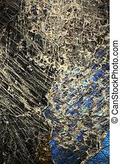 Malachite and azurite background