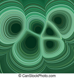 Vector illustration of a malachite texture