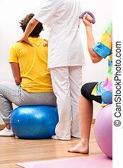 malades, exercices