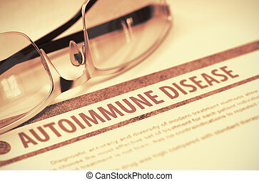 maladie, Médecine,  autoimmune,  Illustration,  3D