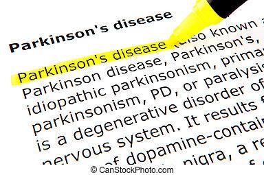 maladie, parkinson's