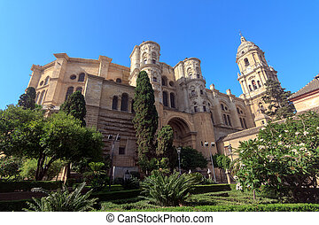 Malaga Cathedral in Andalusia, southern Spain.