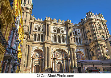 Malaga Cathedral - Malaga Cathedral Santa Iglesia de la...
