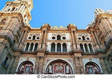 Malaga Cathedreal Front 1