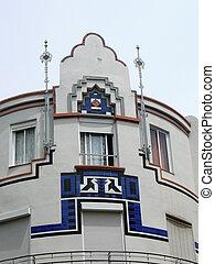 Malaga corner building