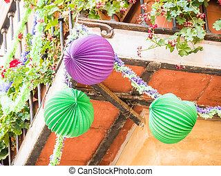 Malaga in fair, Spain