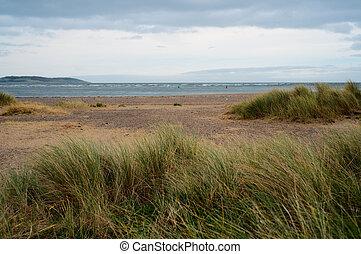 Malahide beach. Ireland