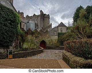 malahide, castello, in, irlanda