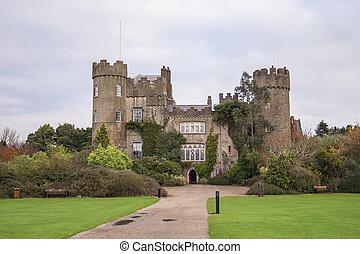 Malahide castle near Dublin