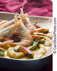 Malai King Prawn Curry