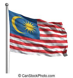 malaisie, drapeau
