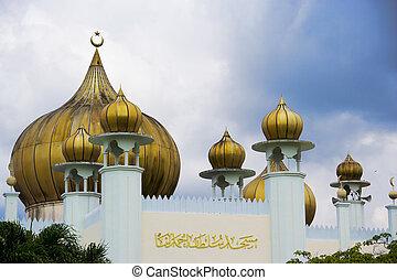 malaisie, shah, mosquée, ahmad, sultan