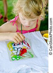 malarstwo, dziecko