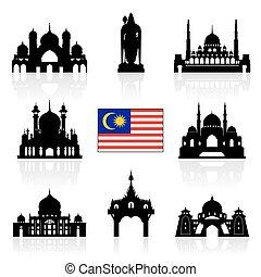 malasia, viaje, señales