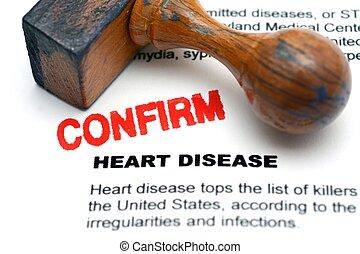 malattia, cuore, confermare