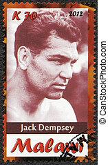 Malawi - 2012: shows Jack Dempsey
