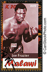 Malawi - 2012: shows Joe Frazier