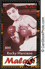Malawi - 2012: shows Rocky Marciano