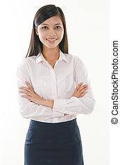 malay business girl