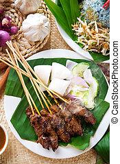 Malay dish satay
